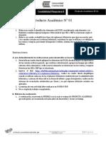 Producto Académico N 01-1 Conta Finaciera