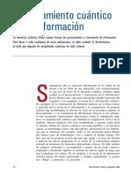 Informacion Cuantica