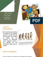 Antropología y Pedagogía
