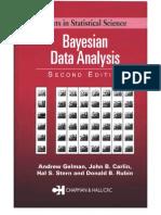 Bayesian Bayesian Data Analysis-Gelman Et Al