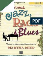 Martha Mier - Christmas Jazz Rags and Blues - Book 1 - 25p
