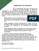 Clima e vegetação  agua do centenrrional.docx