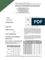 Informe 08 Mircroondas