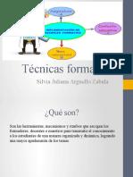 Tecnicas formativas
