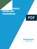 Ticketmaster's professional reseller handbook