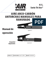 Air Carbon-Arc Manual Gouging Torches 89250019es_ab