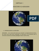 1.- Introduccion a La Geologia