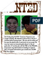 figueroa  francisco - wanted poster