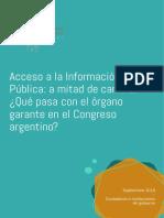 Acceso a La Información Pública a Mitad de Camino
