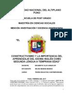 Idu_mamani Ensayo de Constructivismo Final