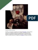 Historia del Arte - Genero de la Pintura - Vanitas