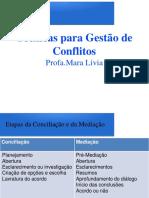 Slides 5 - Tecnicas Para Gestao de Conflitos
