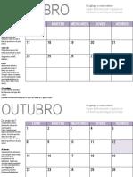 Calendario Curso 2018-19 DinamizaLosada