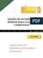 DISEÑO DE PAVIMENTOS RIGIDOS PARA CALLES Y CARRETERAS (METODOS PCA,PCA SIMPLE, JUNTAS).pdf