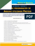 SE344 Lección 01 Curso de Programación de Arduino Utilizando Proteus