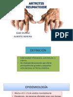 Artritis Reumatoide y Juvenil