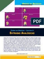 Lección 05 Entradas Analógicas