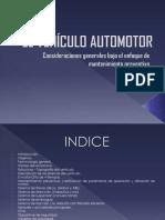 Presentación de vehículo automotor
