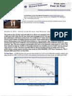 "Gold & Crude Oil have ""key Reversal"" Days on Thursday"