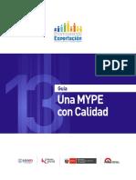Guia 13 MYPE Calidad 2014 Keyword Principal