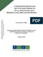 BANCO DE DADOS GEOGRÁFICO DE DESASTRES NATURAIS