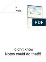 Lotus Notes 8 Tips