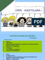 Kurtso Hasierako Bilera 5.Maila 10-11