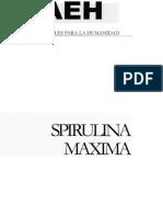 ESPIRULINA CARPETACIENTIFICAAEH-3