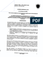 06 - Acuerdo Superior No. 002 de 12 de febrero de 2007 (Creación de la oficina de egresados).pdf