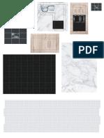 mobiliario y texturas para maquetas