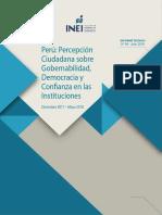 Boletin Percepcion Gobernabilidad Julio 2018