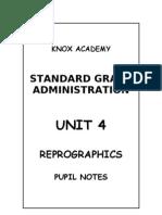 Unit 4 Reprographics