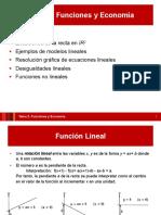 Semana 3 - Funciones y Economia (II)Mates de ECO-UAB