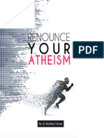 Renounce Your Atheism - Dr. Haitham Talaat