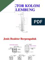 Reaktor Kolom Gelembung