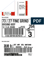 Ground Beef Recall Labels 0925