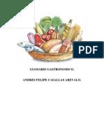 GLOSARIO GASTRONOMICO (1)