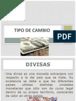 Sesion 11.- Mercado de Divisas y Tipo de Cambio