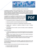 Competição de Casos em Tecnologias e Sistemas de Informação