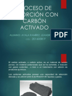 Adsorcion Con Carbon Activo