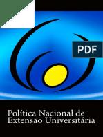 Política Nacional de Extensão Universitária e Book
