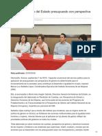 08-09-2018-Impulsa Gobierno Del Estado Presupuesto Con Perspectiva de Género - Termometroenlinea