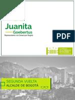 Segunda vuelta para elegir Alcalde Bogotá