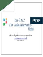 Lei 8112 mapas mentais.pdf
