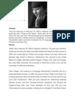 Biodata of Amy Tan