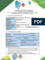 Guía de actividades y rúbrica de evaluación - Tarea 2 - Cuadro comparativo de técnicas de biorremediación