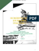 Acreditación en Idioma Italiano - 1 Unità 2 (2018).docx
