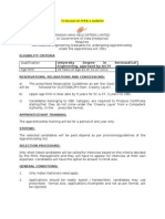 Advt on Website Graduate Appr
