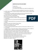 Biografía de Walter Elías Disney