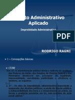 Apresentação - Improbidade Administrativa - aula pos Gestão[4105].ppt